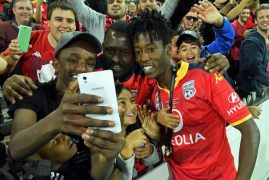 Bruce Kamau's 'unreal' journey from Kenya to A-League Grand Final winner with Adelaide United