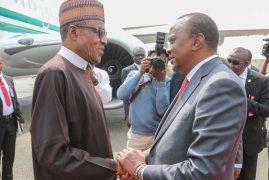 Presidents Uhuru, Buhari, Mohamoud in Eldoret to honour fallen KDF soldiers