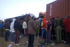 At least 30 dead, 22 hurt after bus collides with tuck at Migaa