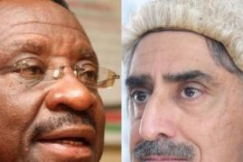 James Orengo takes on Queen's Counsel Khawar Qureshi