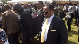 HEROIC send off at Mr Nathan Muya's Funeral,as over 6000 people attend his burial in Nyahururu,Kenya