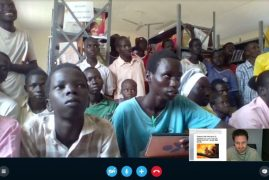 Skype helps teach refugee students in Kenya via Project Kakuma