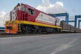 First SGR cargo train arrives in Nairobi