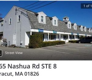 A Condo office for sale or rent in Dracut Massachusetts $97,000