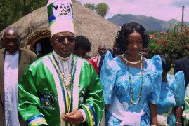 Nurse-turned-king arrested after dozens killed in clashes in Uganda