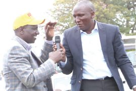 Video:Jubilee supporters celebrate Aaron Cheruiyot's victory in senate by-election