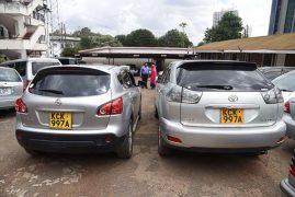 Kenya detectives bust ring cloning car number plates