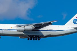 Plane with Russian humanitarian aid lands in NewYork