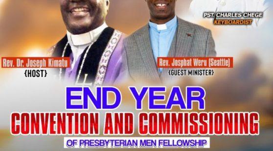 Kenyan Community Presbyterian Church(USHINDI) End of Year Convention & Commissioning Nov 29th,Sat.30th & Sunday December 1st 2019