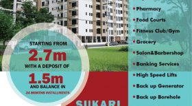 SUKARI HEIGHTS  Affordable Luxury  2 br, 3 Br plus Dsq & studio apartments