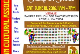 Lowell's 2016 African Festival.