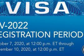 US Green Card Lottery (DV-2022) Registration 2020