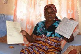 Beatrice Mbithe Mwangangi, 80, Granny seeks help to recover land in Nairobi