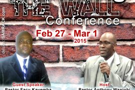 Rebuilding The Wall Conference at Eagle Christian Ministries