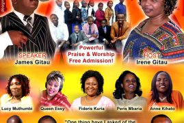 Joy of Praise Celebration (Kigooco) coming up on April 5, Mark Your Calendar