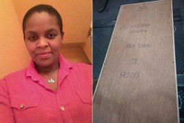 Body of Kenyan House Help Killed in Abu Dhabi Finally Arrives Home