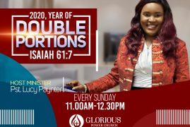 Welcome to Glorious Power Church (GPC) 2020 Year of Double Portions 40 Vinal Sq North Chelmsford,Massachusetts