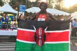 Kenya's Ekiru makes history at African Games