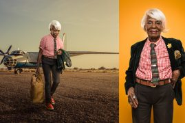 Kenyan photographer Osborne Macharia put together a photo series imagining the country's generation of retired businesswomen.