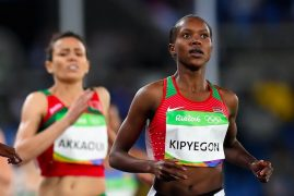 YES WE #KEN Faith Kipyegon wins another Gold medal for Kenya in the women's 1500M