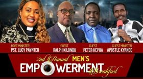 Men's Empowerment Prayer Breakfast March 2, 2019 $30