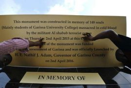 Garissa University rules out memorial for attack victims