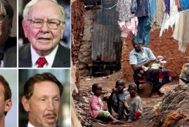 2,000 of the world's richest people hold more than the poorest 4.6 billion combined