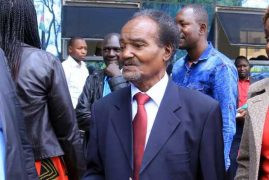 G G Kariuki refused to quit politics