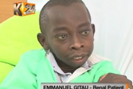 Video:Meet 32-year-old Gitau who has had 3 failed kidney transplants, and done 14 operations