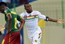 Guinea's Ibrahima Traore stuns Cameroon in Africa Cup of Nations