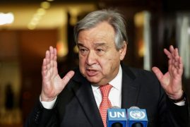 UN chief to visit Kenya as famine threatens region