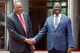Uhuru, Raila To Receive International Award For Handshake Deal