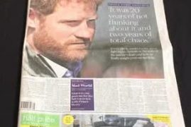 Prince Harry: I sought counselling after 20 years of not thinking about the death of my mother, Diana,