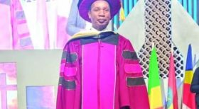 Former Cabinet Minister attains PhD 48 years after his first degree