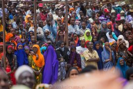 Video:One dies as Uhuru's Isiolo rally turns chaotic
