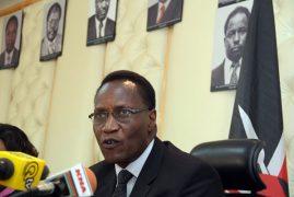 Professor Jacob Kaimenyi defends Form one selection criteria
