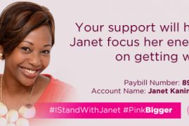 Janet Kanini-Ikua battling stage 4 cancer with courage & faith