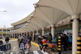 Long Queues at JKIA as Chinese Nationals Flee Kenya