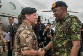 Why Uhuru Wore Military Uniform to Welcome King Abdullah II of Jordan