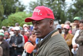 WILLIAM KABOGO announces he will defend the Kiambu Governor seat as an Independent candidate.