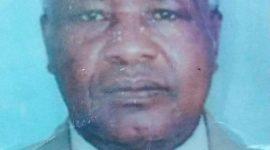TRANSITION/DEATH ANNOUNCEMENT OF Kenneth Kiagiri Mwangi