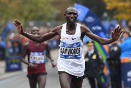 Geoffrey Kamworor wins New York marathon