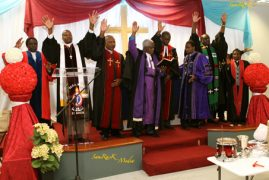 Jubilant Celebrations as  Hundreds attend,  Official Launch of the newly formed Kenyan PCEA  NEEMA Church in Lowell,Massachusetts