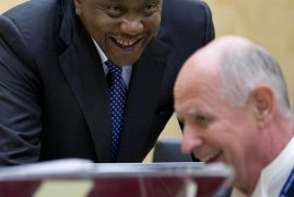 International Criminal Court terminates proceeding against President Uhuru :  Kenyatta case: Trial Chamber V(B) terminates the proceedings