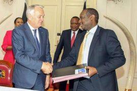 Kenya, France sign Sh3.6bn power grid deal