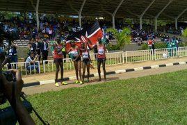 Kenya are inaugural XC mixed relay gold winners