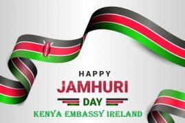 MESSAGE BY AMB. MICHAEL K. MUBEA, EBS ON DECEMBER 12, 2020 JAMHURI DAY