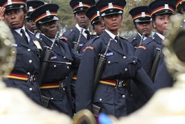 Training of 10,000 Kenya Police Officers Cancelled