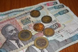 Kenyan shilling steady, supported by high debt yields