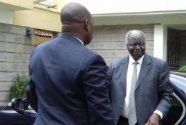 PHOTOS: Kibaki's First Day in New Job